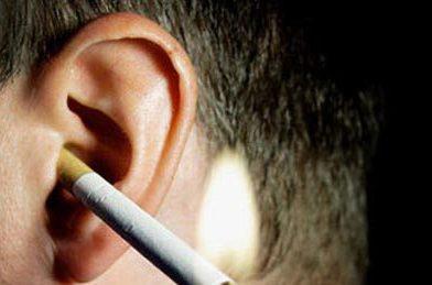دراسة يابانية: التدخين مرتبط بضعف السمع