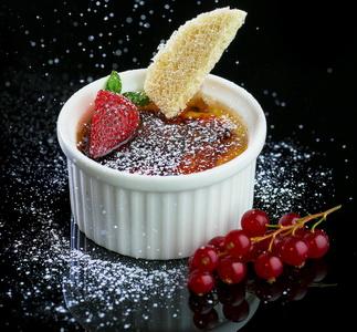 وصفة كريم بروليه مقدمة من مطعم جودبور الملكي