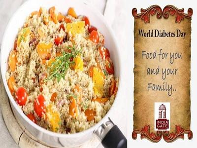 اليوم العالمي لمرض السكري.. الغذاء لك ولعائلتك! – مقالة مُقدّمة من خبراء إنديا جيت KRBL