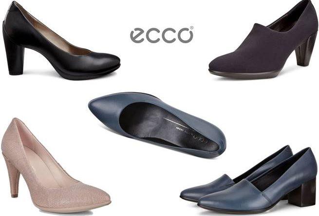 """أحذية """"إيكو"""" ذات الكعوب الكلاسيكية… تشكيلة تلبي جميع متطلباتك"""