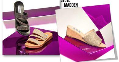 """الصنادل المسطحة من """"ستيف مادن""""… لإطلالة عربية رمضانية"""
